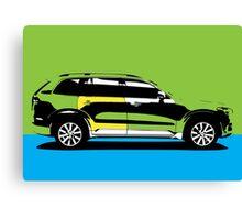 pop art car Canvas Print