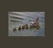 Ducklings Following Mom Duck Unisex T-Shirt