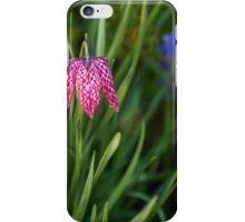 Variegated flowers bell iPhone Case/Skin