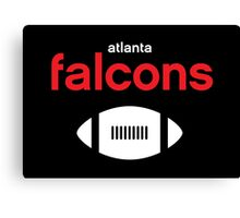 Atlanta Falcons Canvas Print