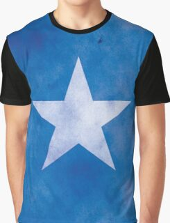 Black ★ Rock Shooter Star Graphic T-Shirt