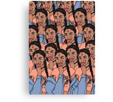 Brown Girl Kali Canvas Print