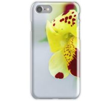 Yellow flower macro iPhone Case/Skin
