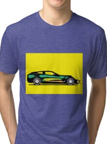 Pop art car Tri-blend T-Shirt