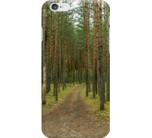 Road to forest iPhone Case/Skin