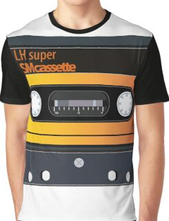 vintage audio tapes Graphic T-Shirt