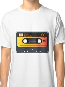 vintage audio tapes Classic T-Shirt