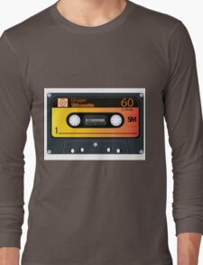 vintage audio tapes Long Sleeve T-Shirt