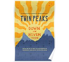 Twin Peaks: Down In Heaven Tour @ The Waiting Room Poster