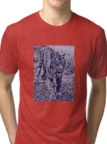 In the forests of the night Tri-blend T-Shirt