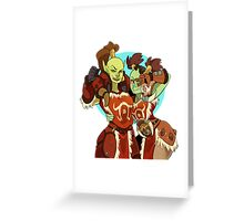 Orc BFFs Greeting Card