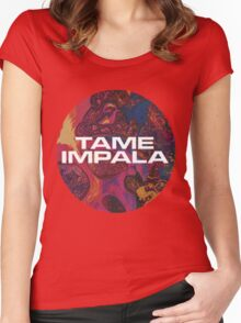 Tame Impala Logo #4 Women's Fitted Scoop T-Shirt