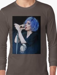 Alice Glass Screen Lines Long Sleeve T-Shirt
