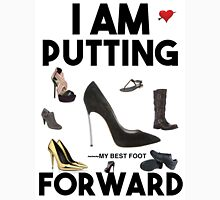 Mary's Tee's: I Am Putting My Best Foot Forward Women's Fitted Scoop T-Shirt