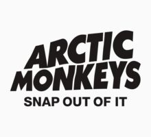 Arctic Monkeys One Piece - Short Sleeve