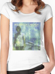 boards of canada the campfire headphase Women's Fitted Scoop T-Shirt