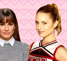 It all startd with a Blonde and a Brunette | Faberry Sticker