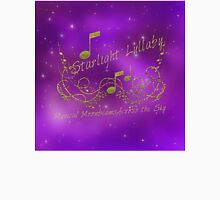 Starlight Lullaby Purple & Gold Music & Sky  Unisex T-Shirt