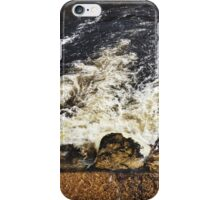 Running Water at Bolton Abbey, Yorkshire iPhone Case/Skin