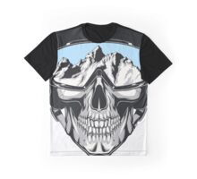 Dead Skier Graphic T-Shirt