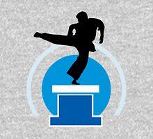 Karate player silhouette Unisex T-Shirt