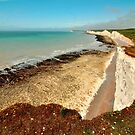Seven Sisters from near Birling Gap by Stephen Frost