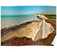 Seven Sisters from near Birling Gap Poster