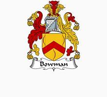 Bowman Coat of Arms / Bowman Family Crest Unisex T-Shirt