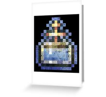 Castlevania SOTN Holy Water  Greeting Card