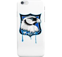 Eagle on a shield clip art iPhone Case/Skin