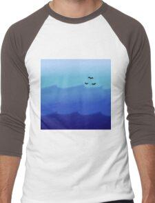Ocean Gradient Men's Baseball ¾ T-Shirt