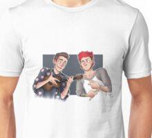 Tyler and Josh - ukulele and drumsticks Unisex T-Shirt