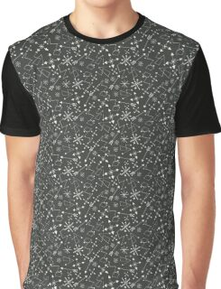 Out of Space Black Sky and Stars Graphic T-Shirt