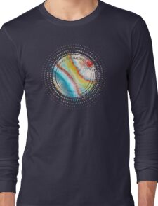AGATE Inspired Watercolor Abstract 01 Long Sleeve T-Shirt