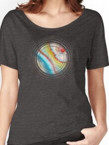 AGATE Inspired Watercolor Abstract 01 Women's Relaxed Fit T-Shirt