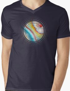 AGATE Inspired Watercolor Abstract 01 Mens V-Neck T-Shirt