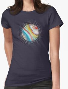 AGATE Inspired Watercolor Abstract 01 Womens Fitted T-Shirt