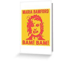 Maria Bamford Greeting Card