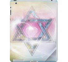 STAR OF DAVID-2- bless and protect- Art + Products Design  iPad Case/Skin