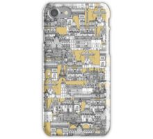 Paris toile gold iPhone Case/Skin