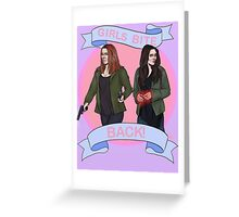 Girl Powers Greeting Card