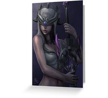 Nemesis - Smite Greeting Card