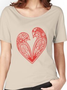 Love Birds Women's Relaxed Fit T-Shirt