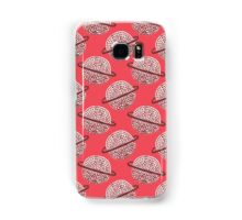 Red Planet Hand Drawn Pattern Samsung Galaxy Case/Skin