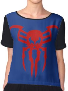 Spiderman 2099 logo Chiffon Top