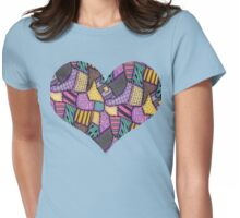 Patchwork Ragdoll Womens Fitted T-Shirt