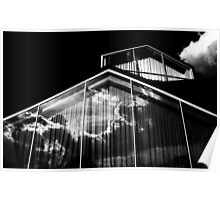 Reflections of Clouds...........Museum of Design Poster