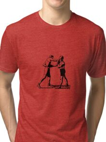 Old time boxing vintage Tri-blend T-Shirt