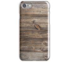 wood texture - wooden background 3 iPhone Case/Skin