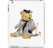 sailor bear iPad Case/Skin
